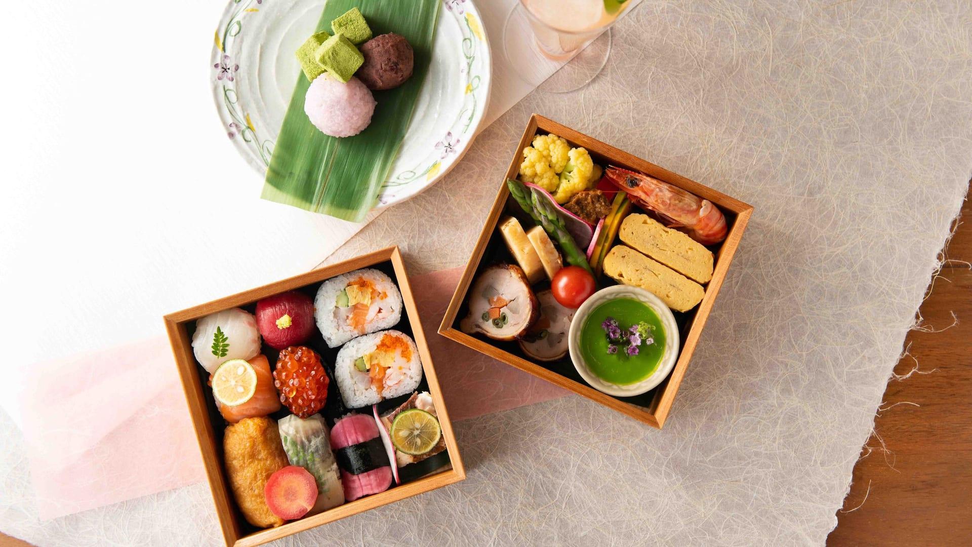 Hyatt Regency Hakone Resort & Spa  Lunch box Sai