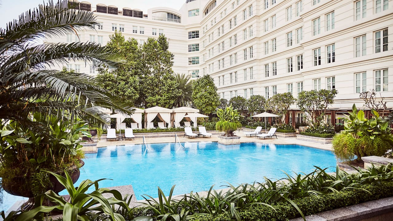Pools at the Park Hyatt Saigon Hotel Ho Chi Minh City