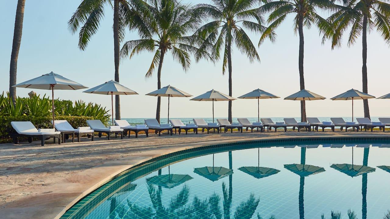 Outdoor swimming pool at Hyatt Regency Koh Samui