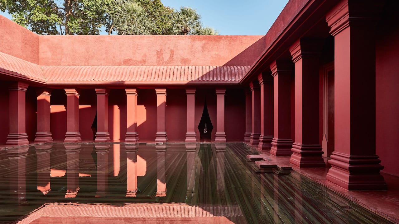 Barai Courtyard
