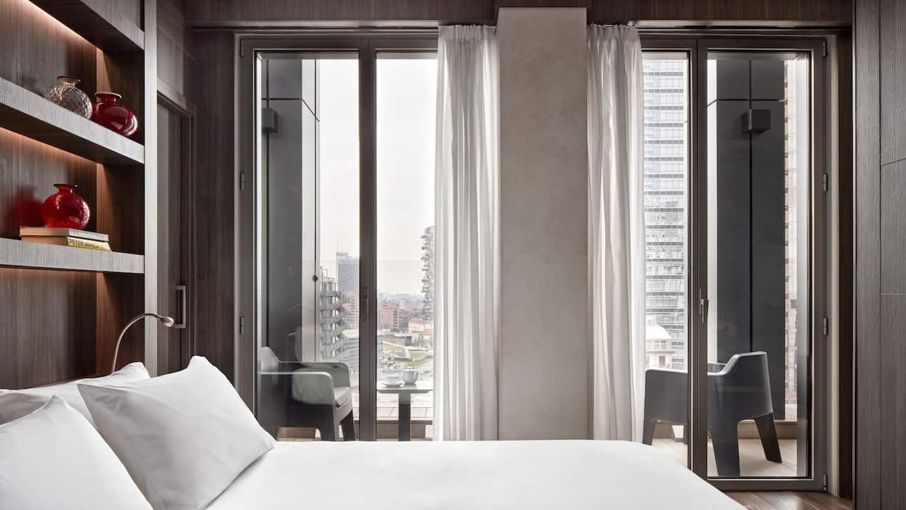 terrace suite Bedroom