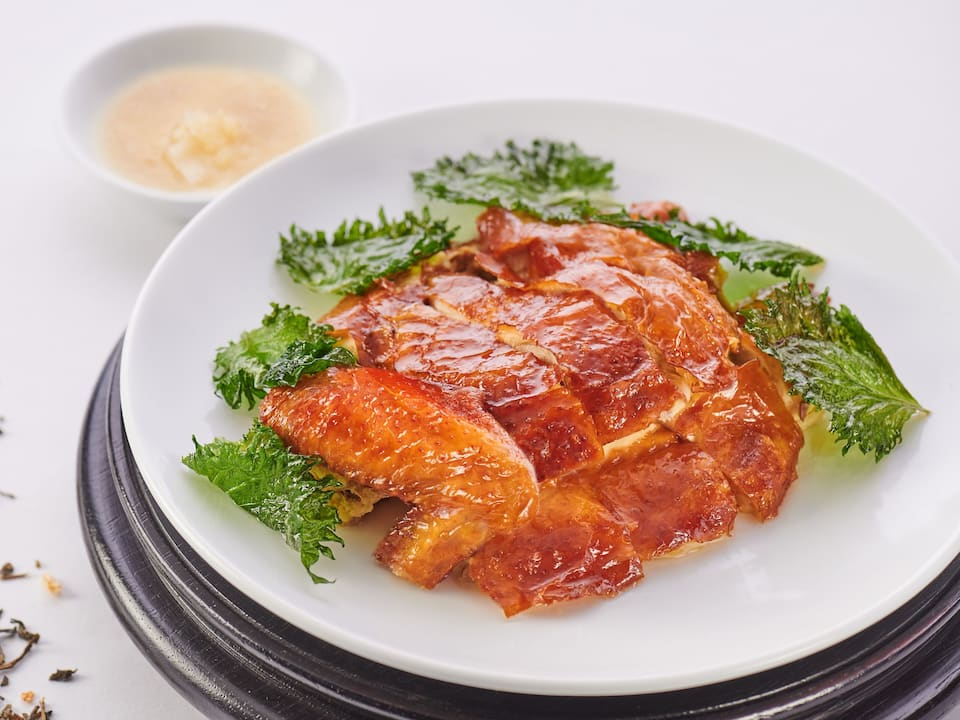 Crispy Smoked Chicken with Jasmine Tea