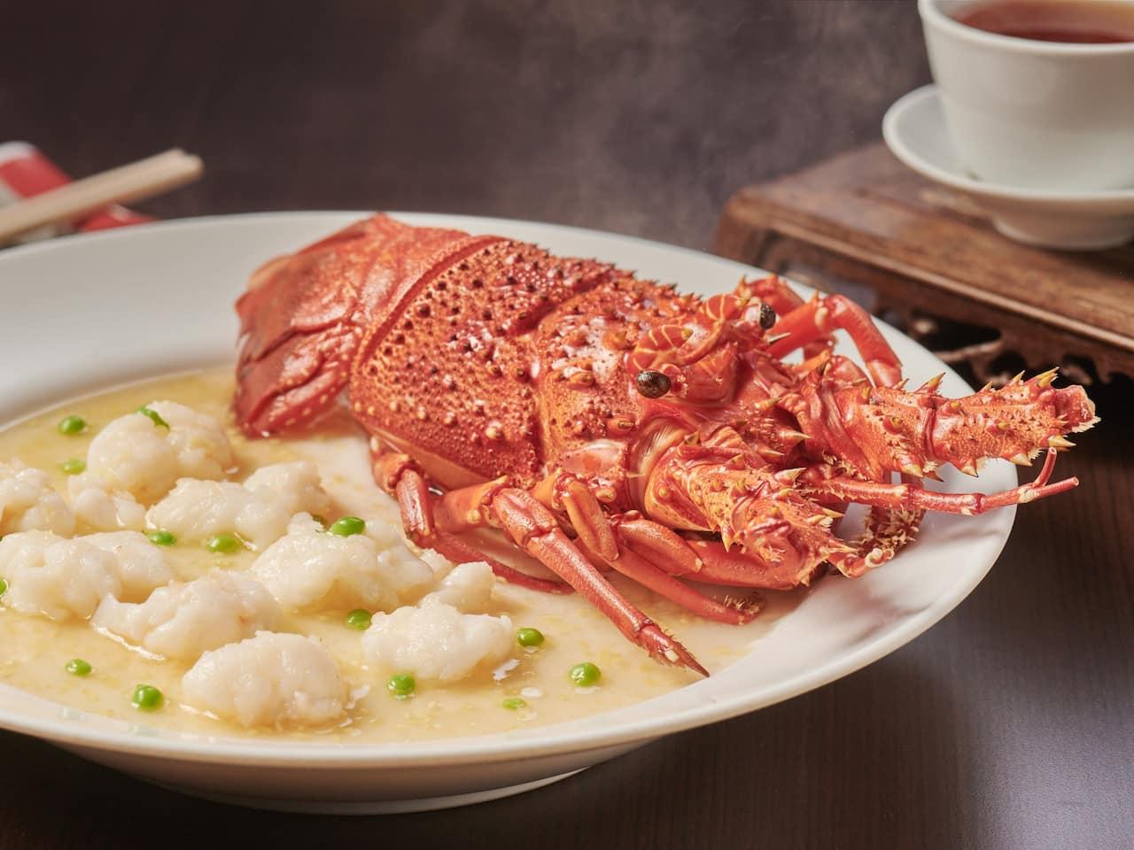 Chinese Restaurant Pan Fried Sea Cucumber