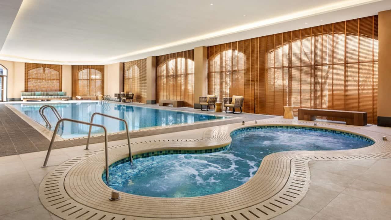 Indoor pool at Hyatt Place Chongli