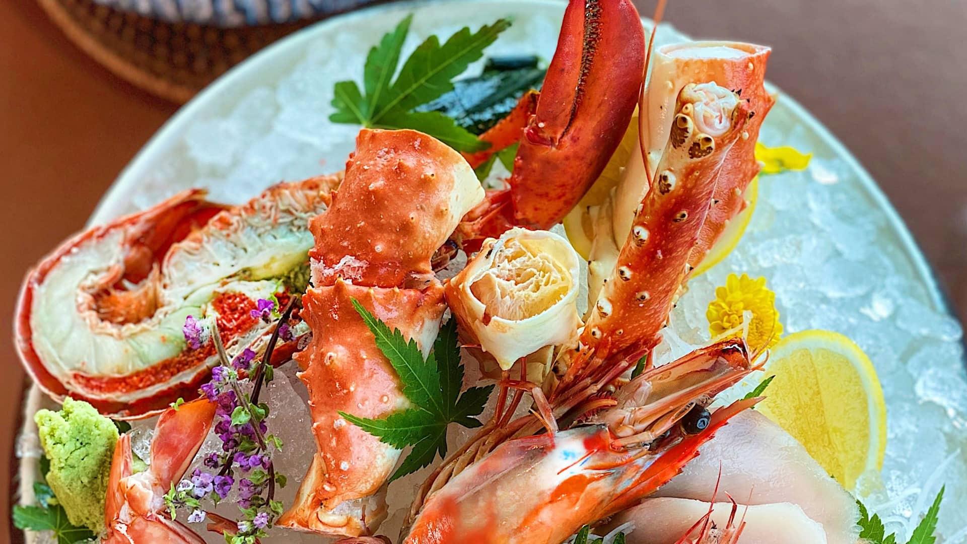 Cruise Seafood Plate