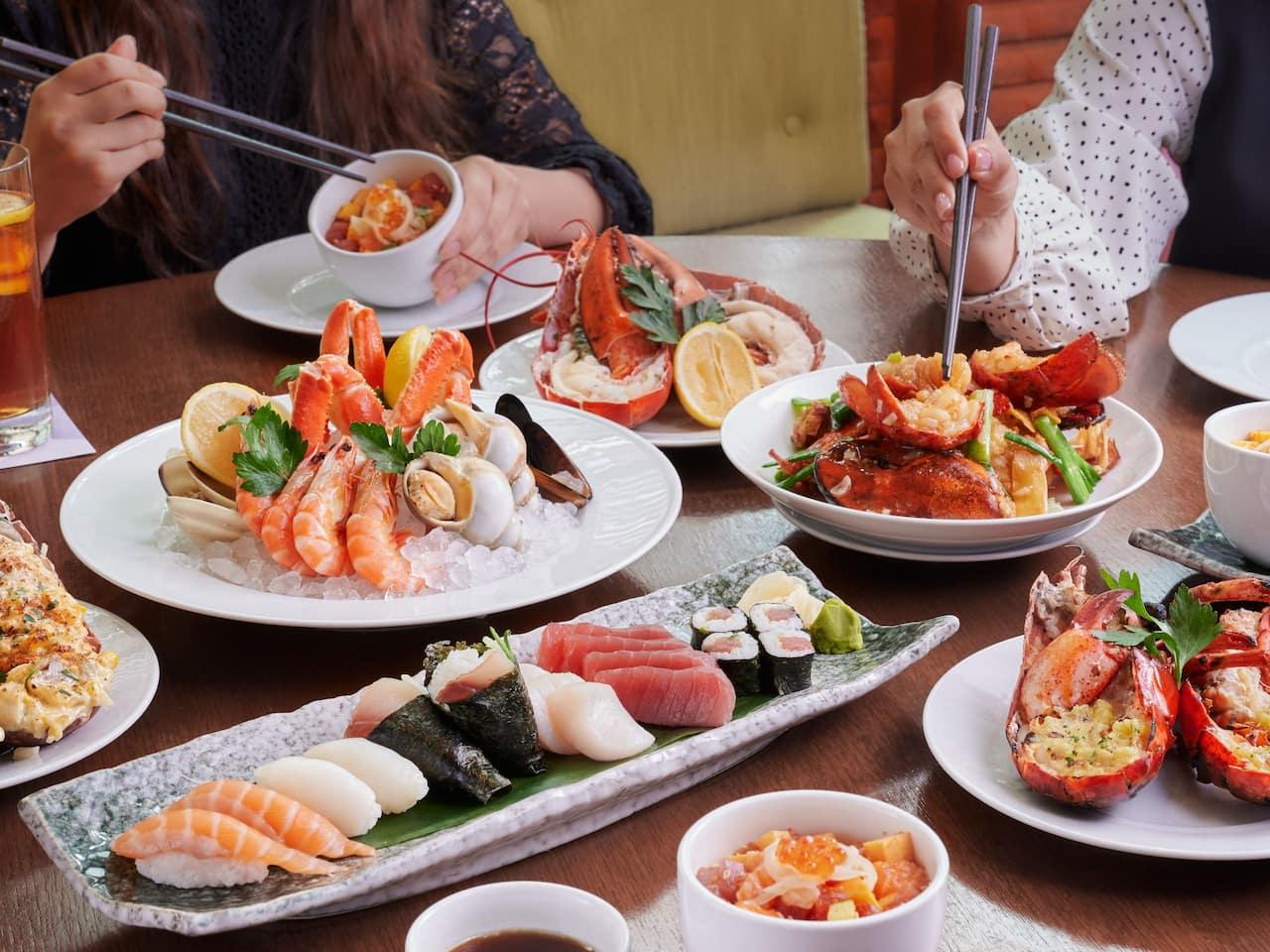 Cafe Live Lobster Station