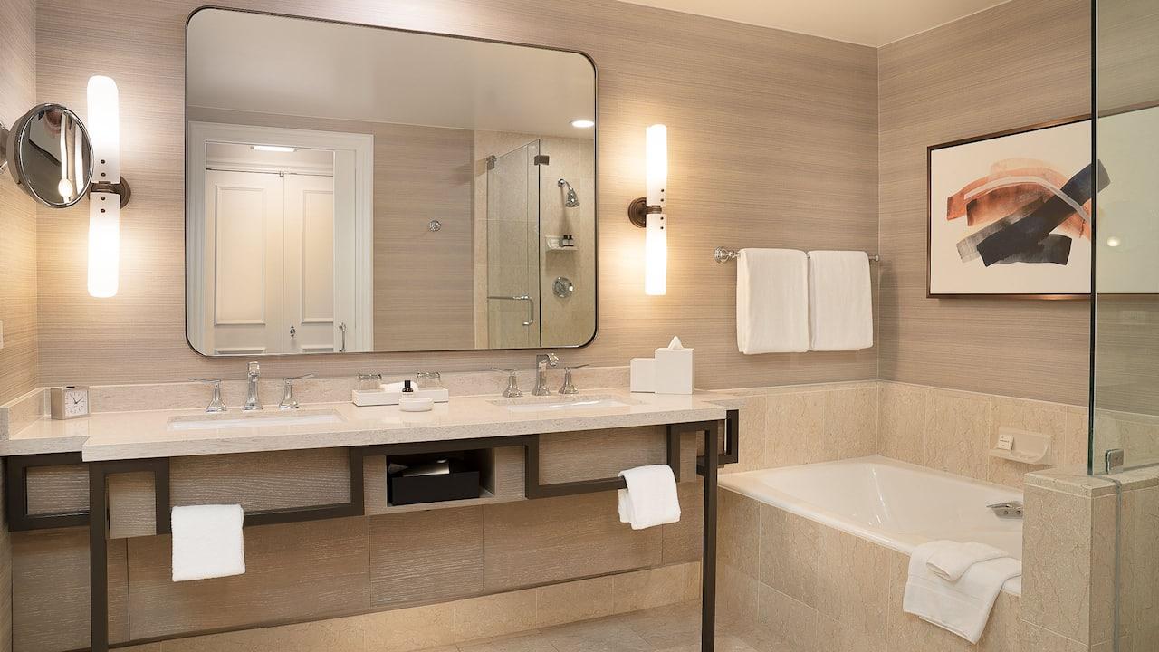Standard Two Kings Bathroom