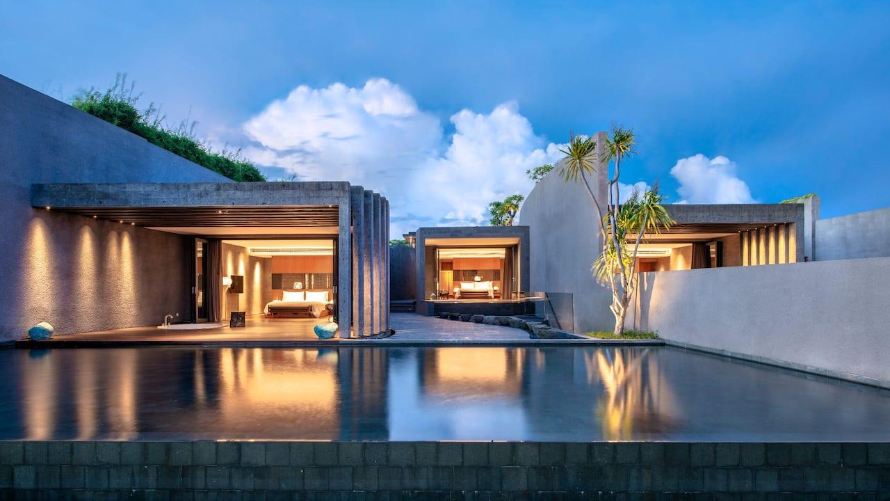 Two Bedroom Cliff Edge Villa