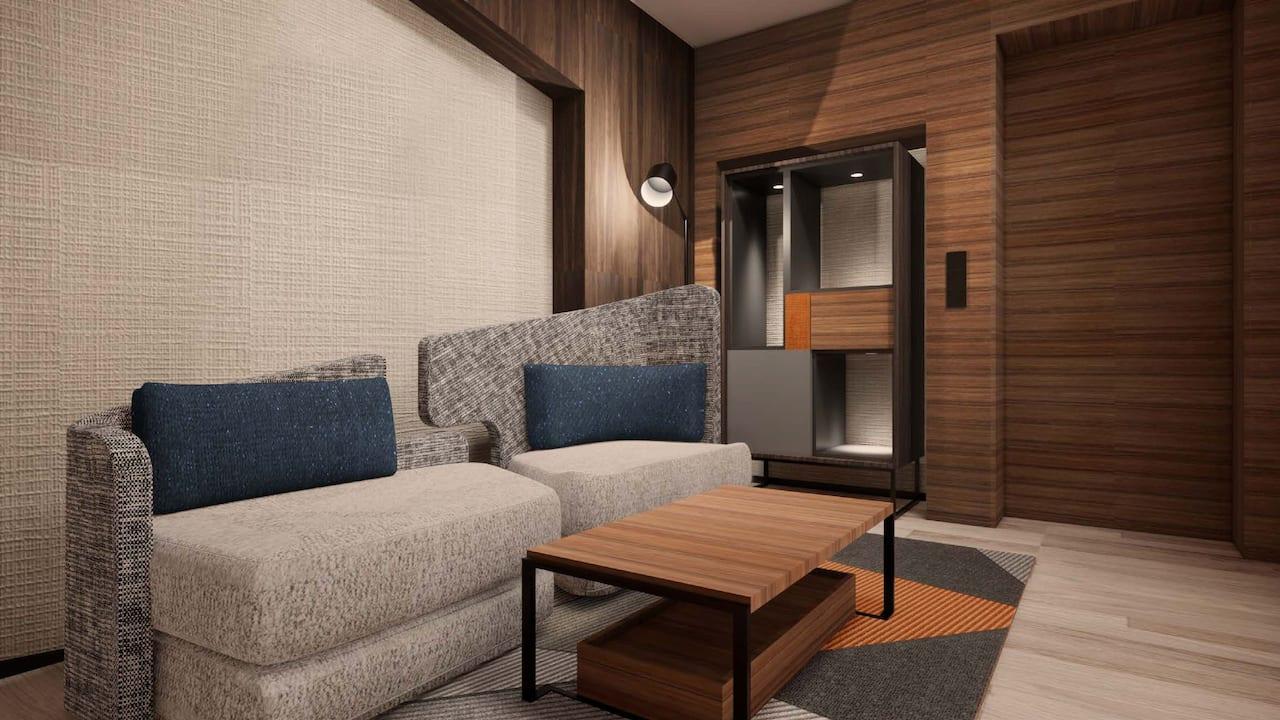 Guestroom sofa