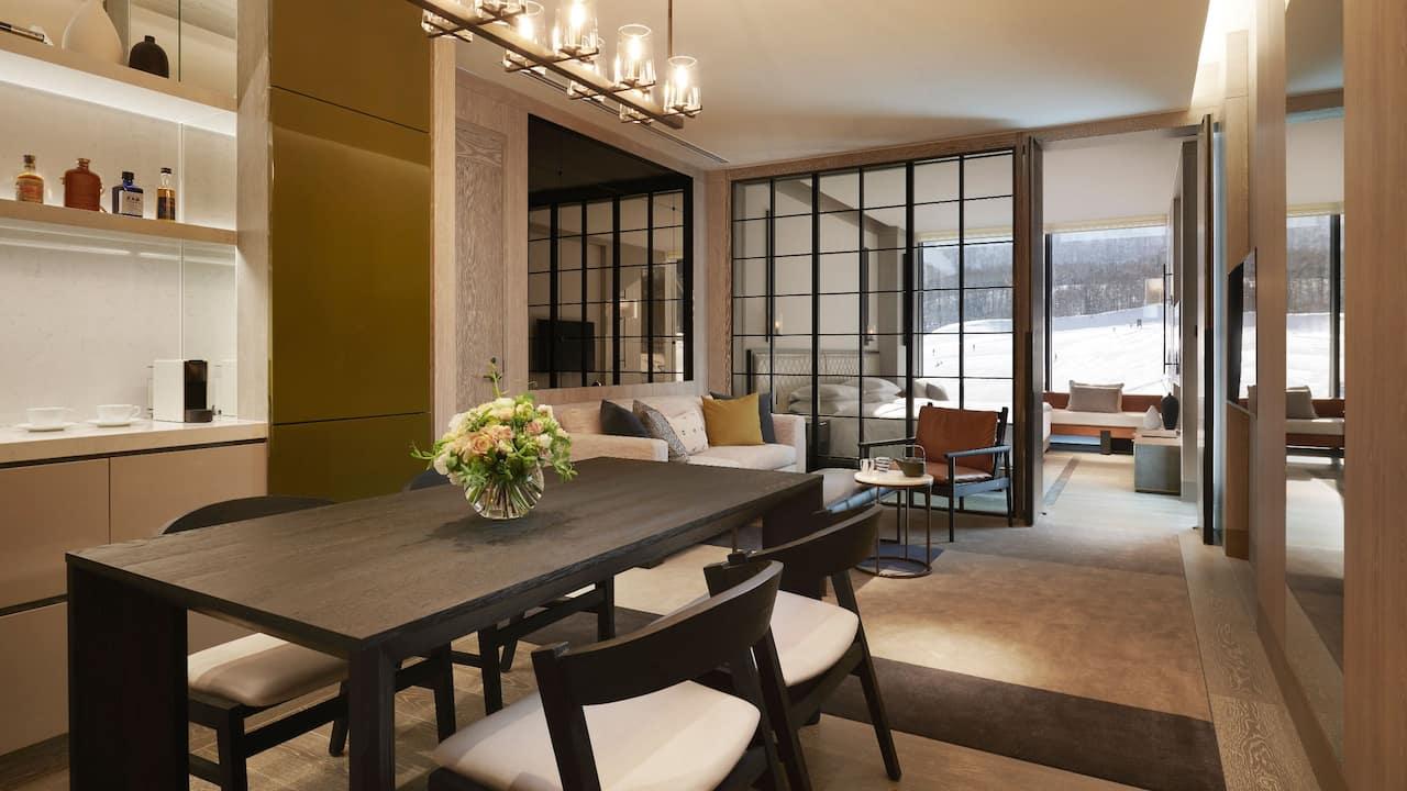 Park Hyatt Niseko Hanazono King Mountain Living Room