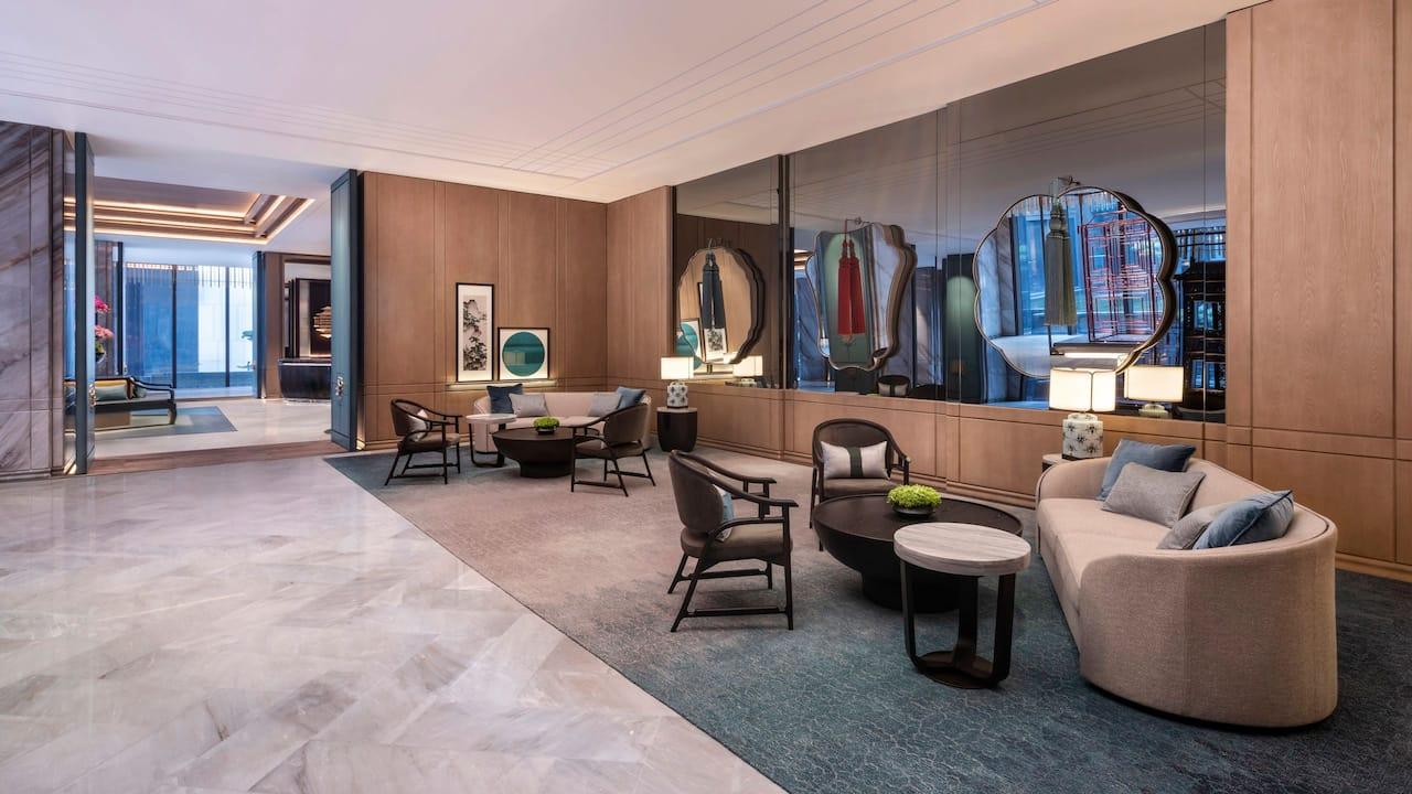 Lobby Seating at Park Hyatt Suzhou