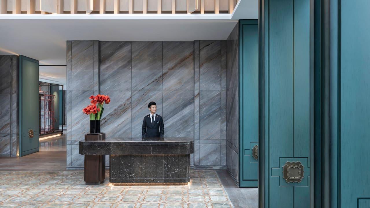 Lobby Concierge at Park Hyatt Suzhou
