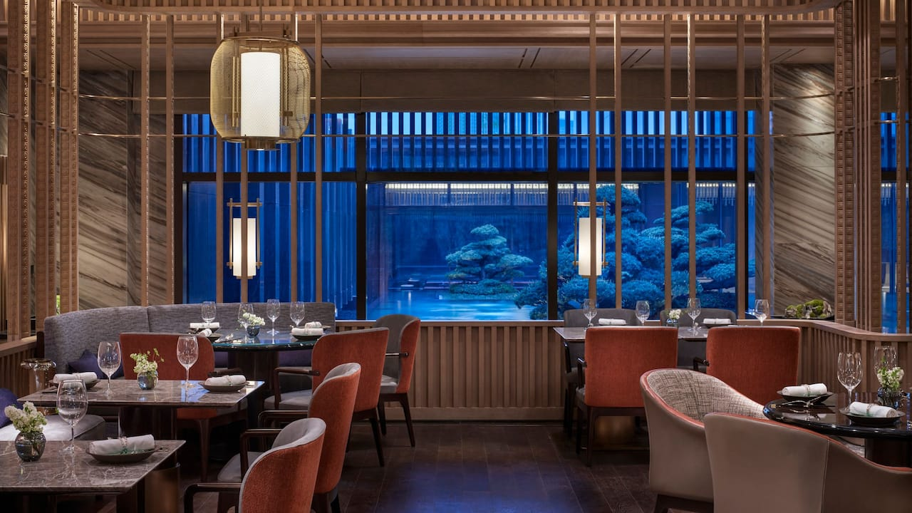Xizhou Hall at Park Hyatt Suzhou