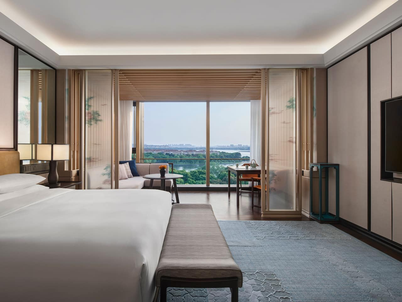 Deluxe King Room at Park Hyatt Suzhou