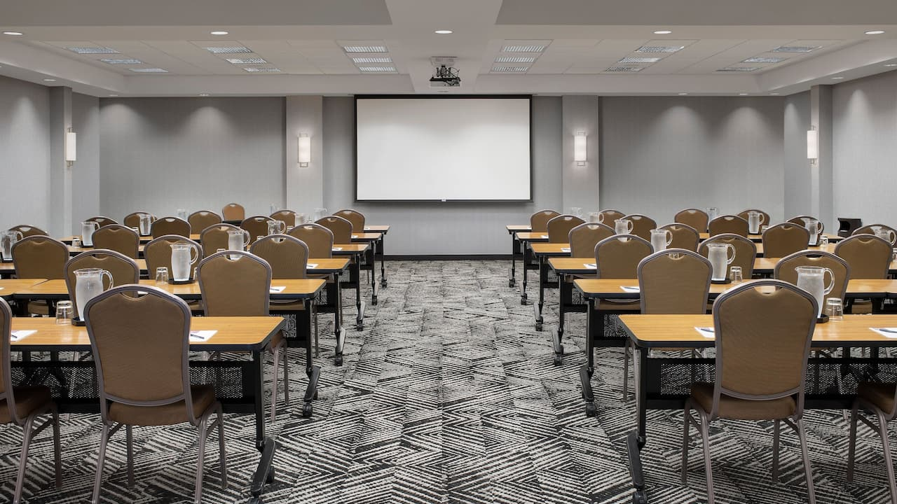 Ballroom - Classroom Setup