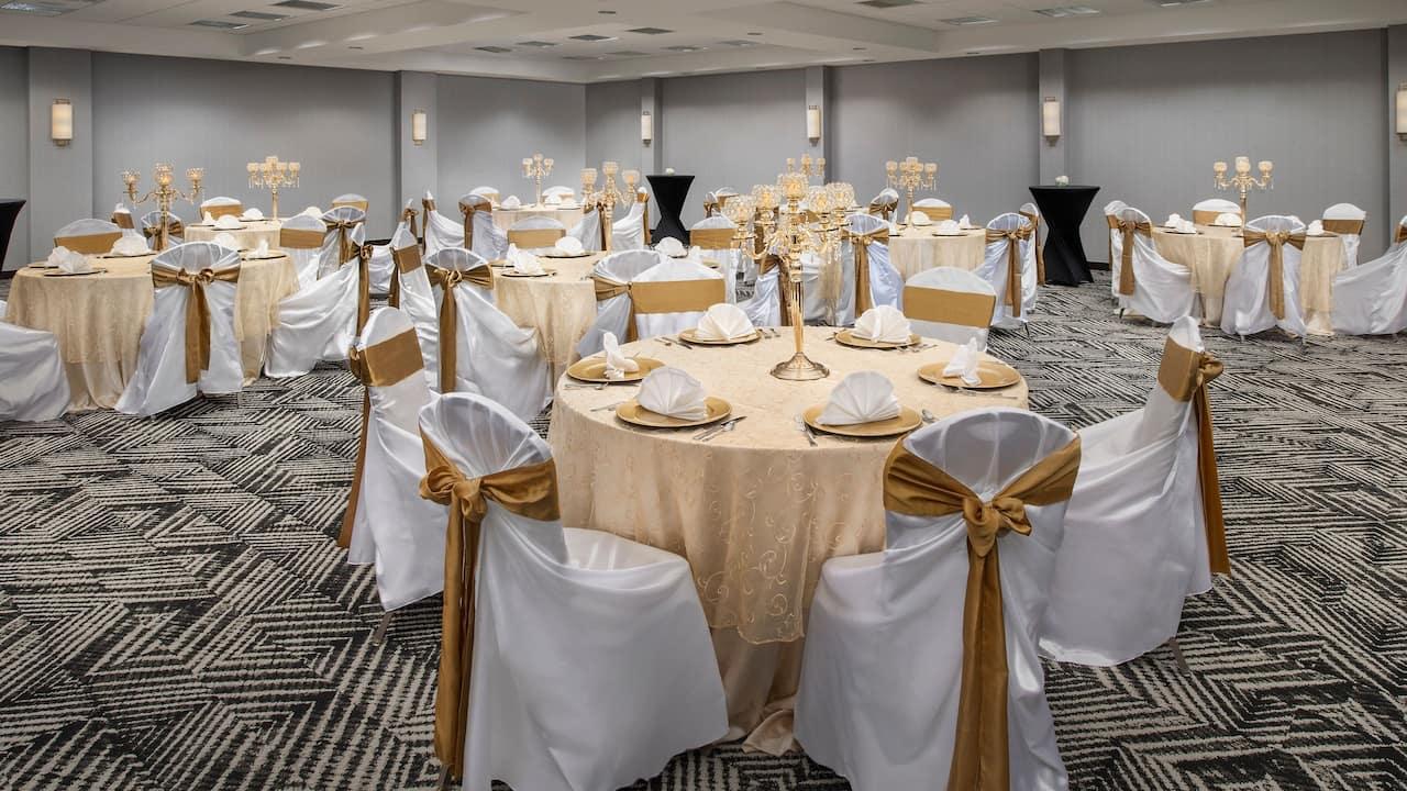 Ballroom - Banquet Setup