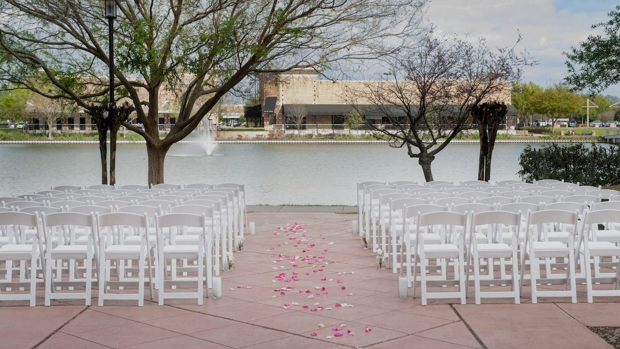 Lakeside Pavilion Wedding