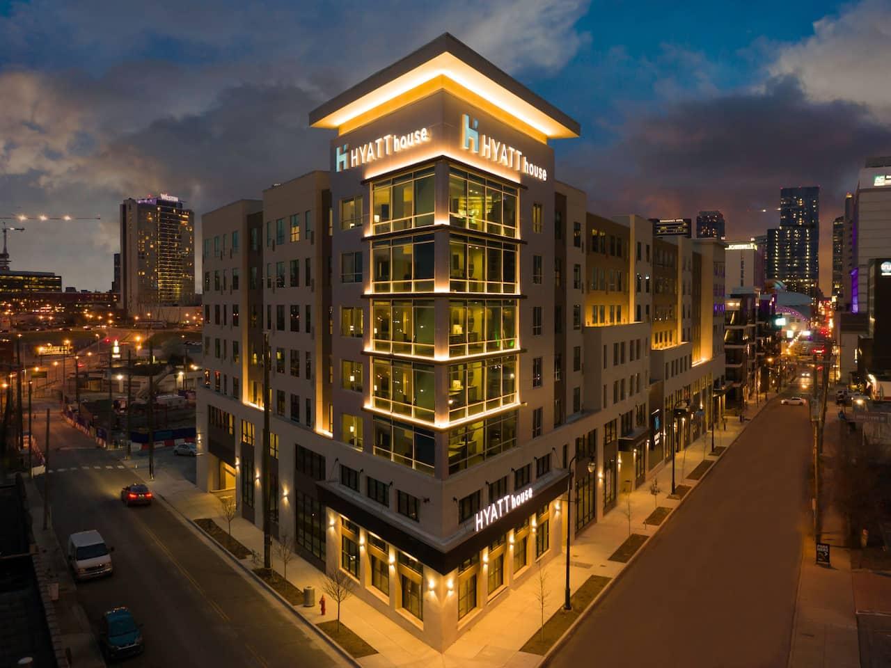 Exterior - Hyatt House Nashville Downtown SoBro