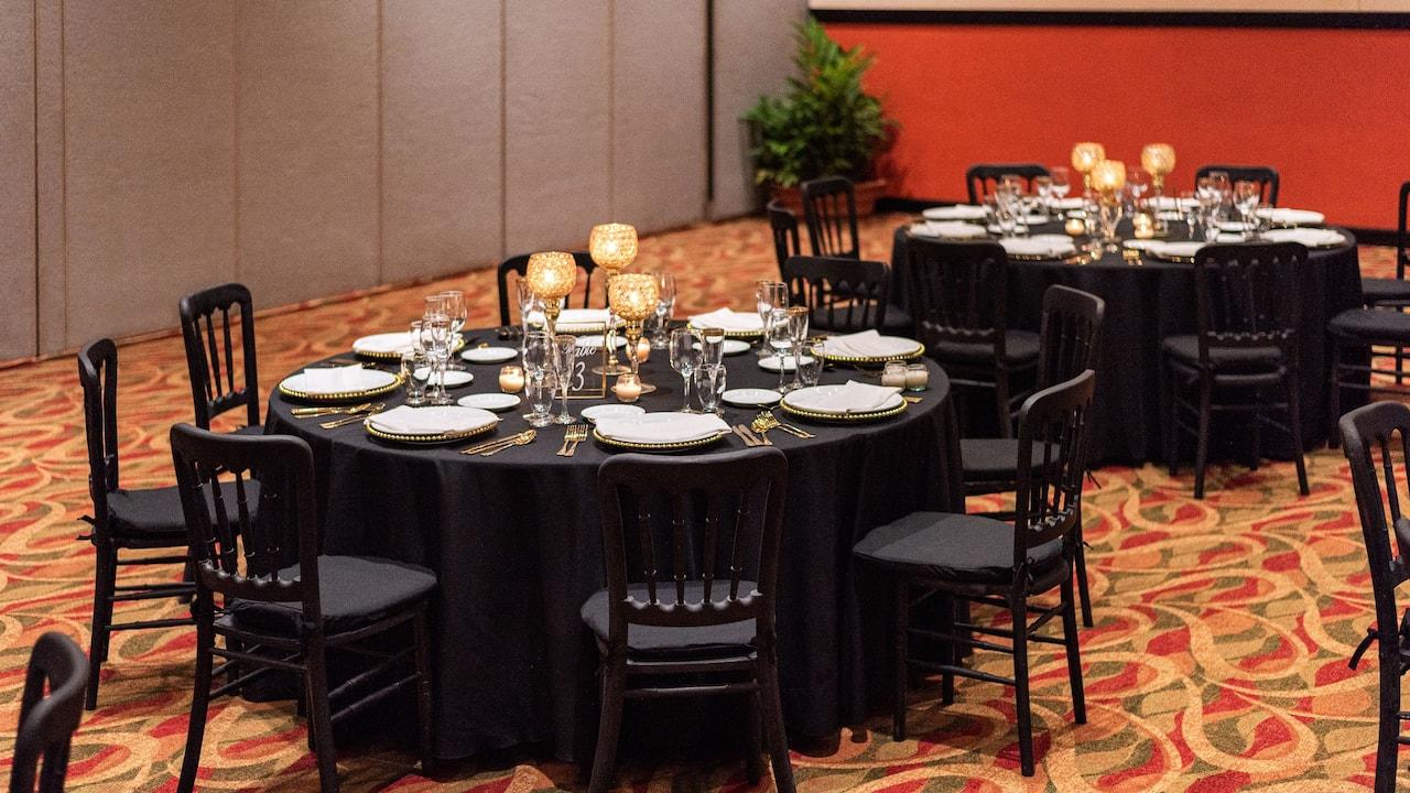 Hyatt Ziva Puerto Vallarta -  Rios Ballroom Ameca Pitillal Banquet Setup