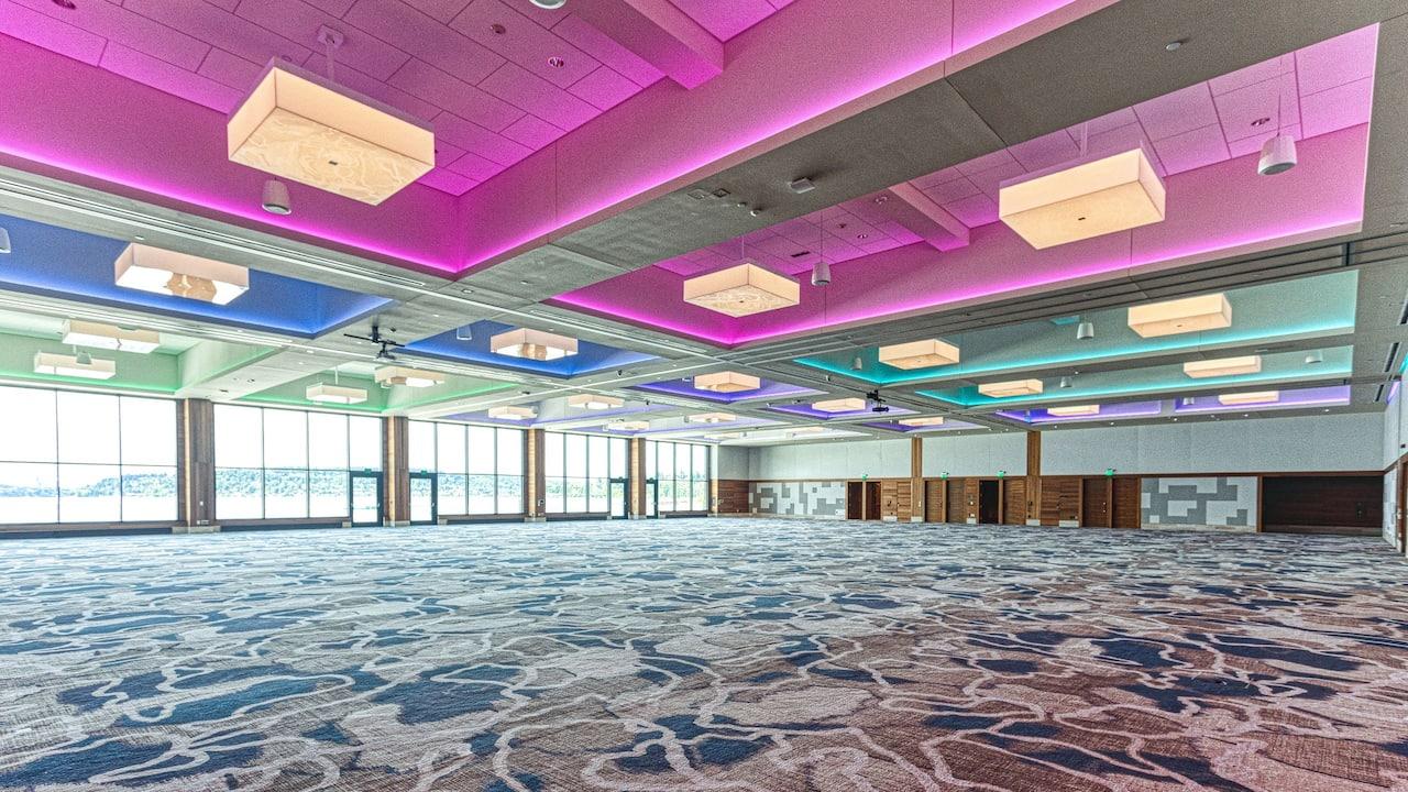 Grand ballroom Hyatt Regency Lake Washington at Seattle's Southport