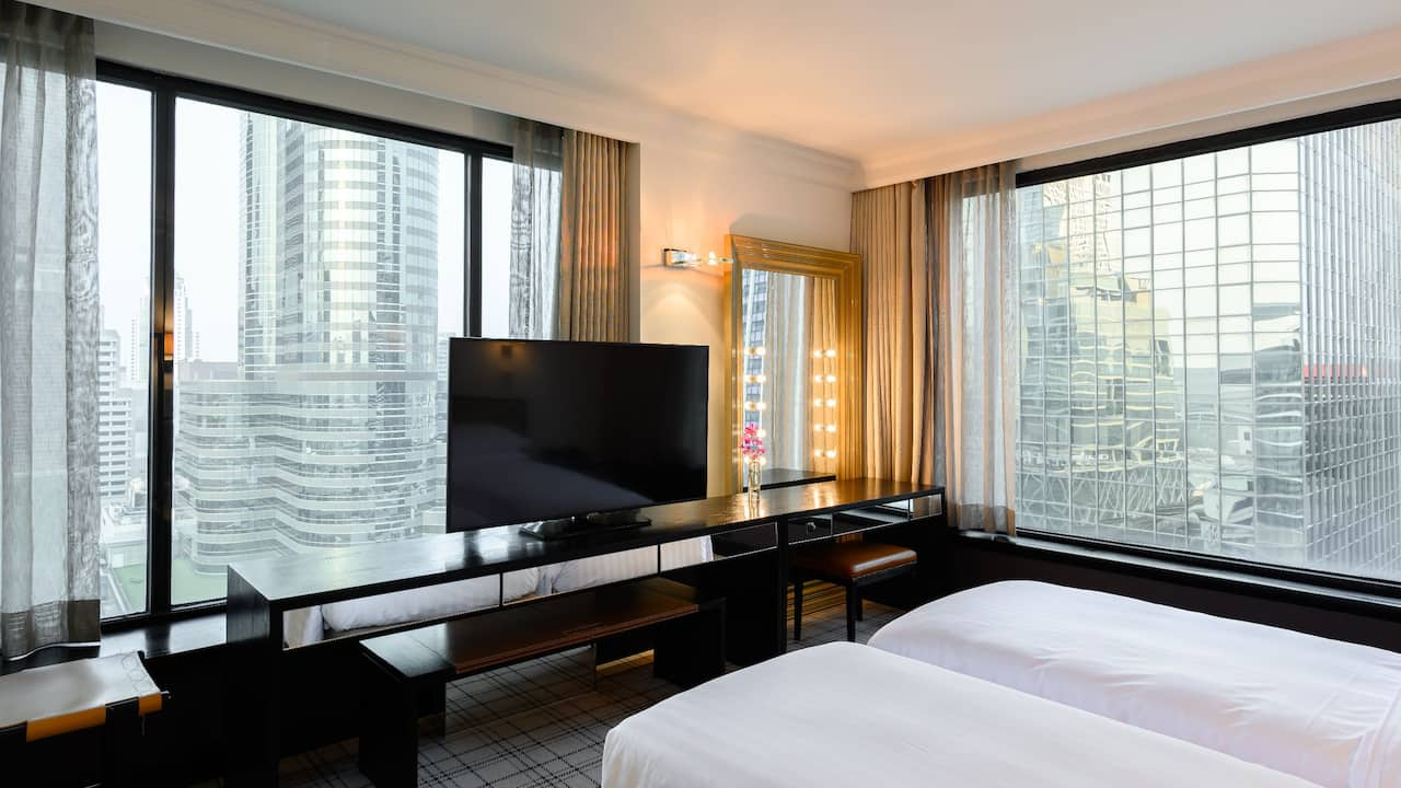Grand Hyatt Erawan Bangkok Twin Suite Room