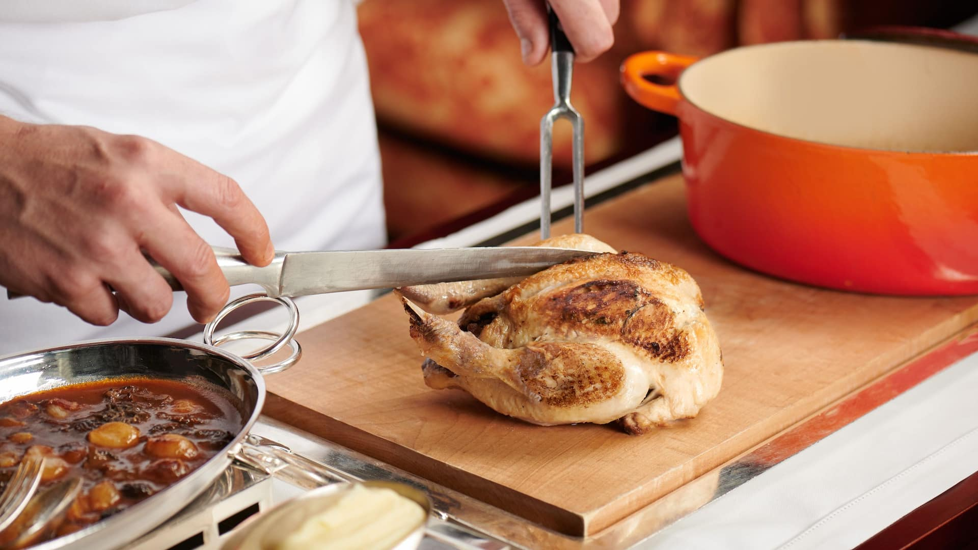 Hugo's Young Bresse Chicken en Cocotte