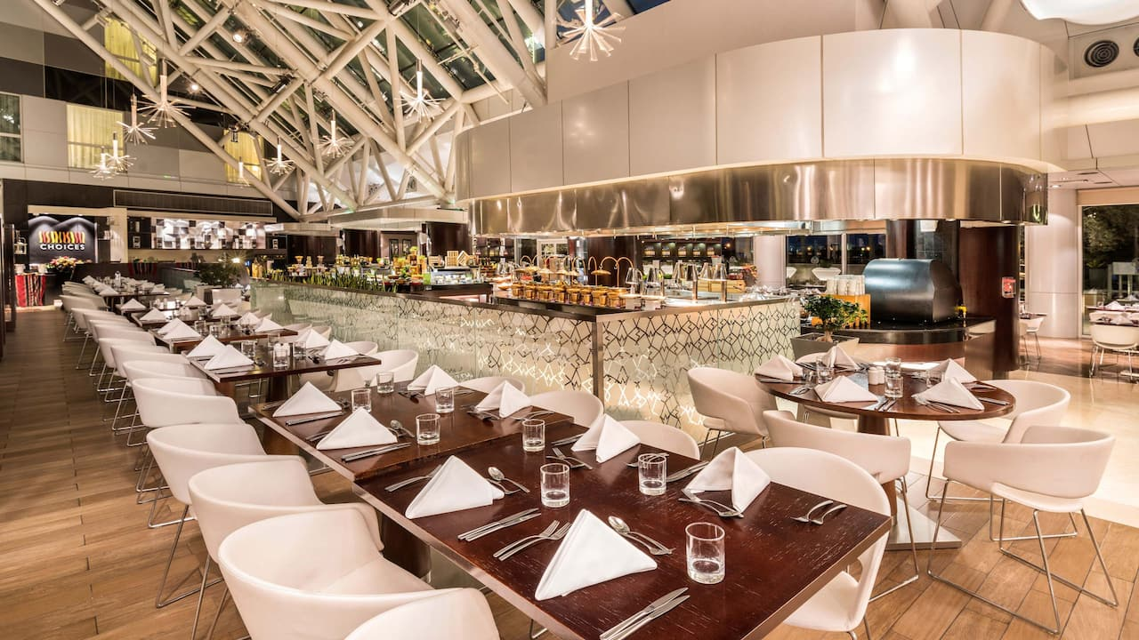 Hyatt Regency Oryx Doha Choices Restaurant