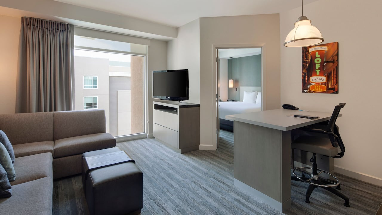 Hyatt House San Jose / Silicon Valley suite living