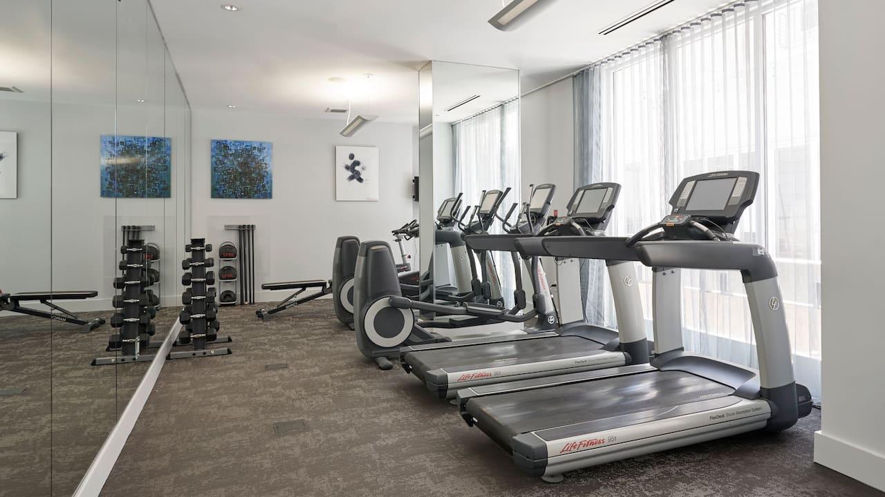 Fitness Center Hyatt Regency Orange County