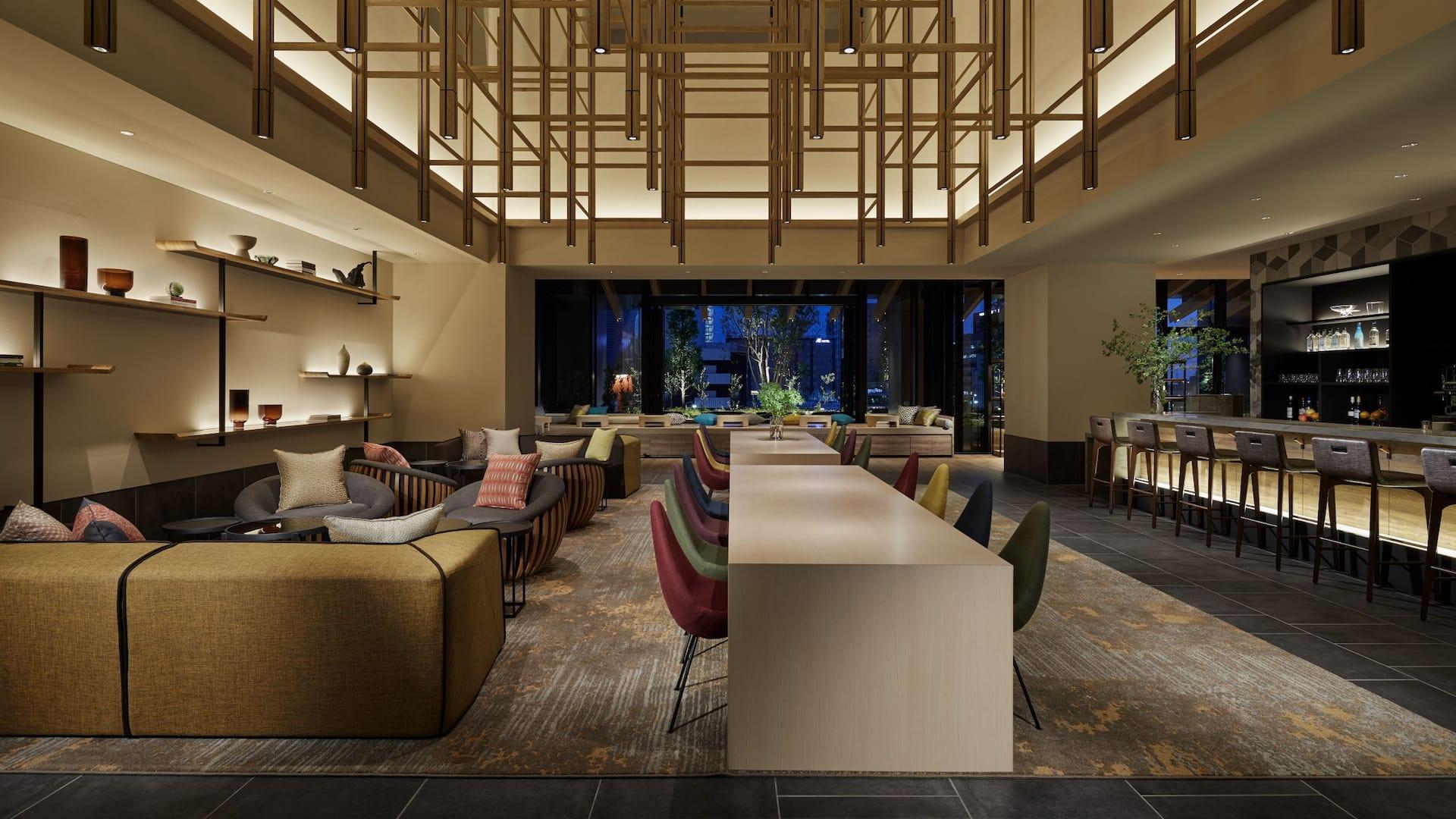 Hyatt House Kanazawa Lobby