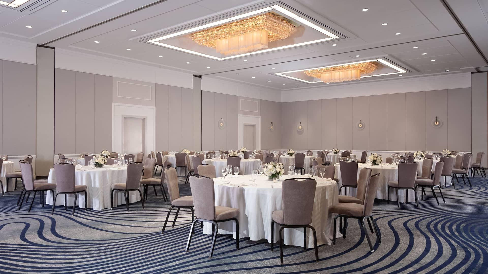 Regency Ballroom Social Set-Up at Hyatt Regency Greenwich
