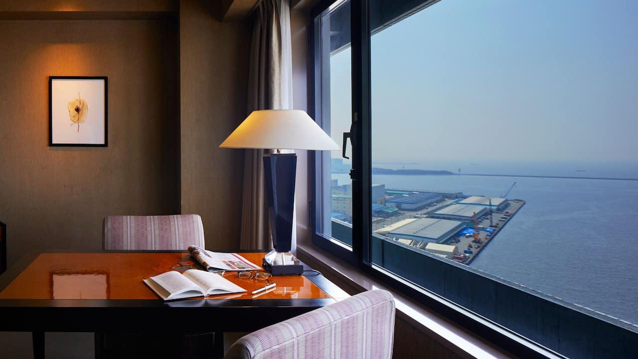Hyatt Regency Osaka ハイアット リージェンシー 大阪 - View from Deluxe room デラックスルームからの眺め
