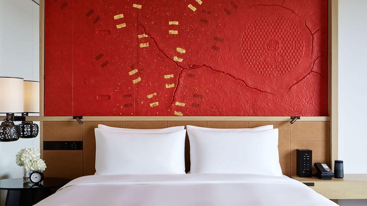 Hyatt Centric Kanazawa Guestroom Bed Board