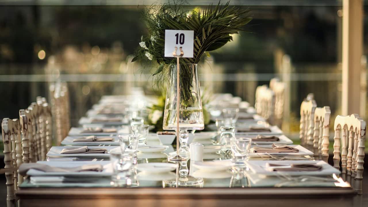 Event Catering at Grand Hyatt Jeju