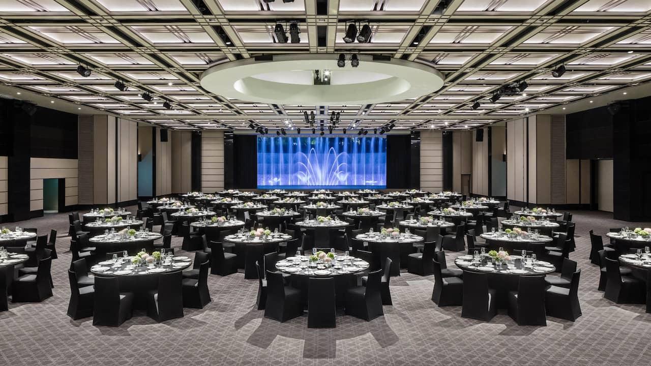 그랜드 하얏트 서울 호텔 그랜드 볼룸, 그랜드 살롱 – 웨딩, 미팅 및 행사