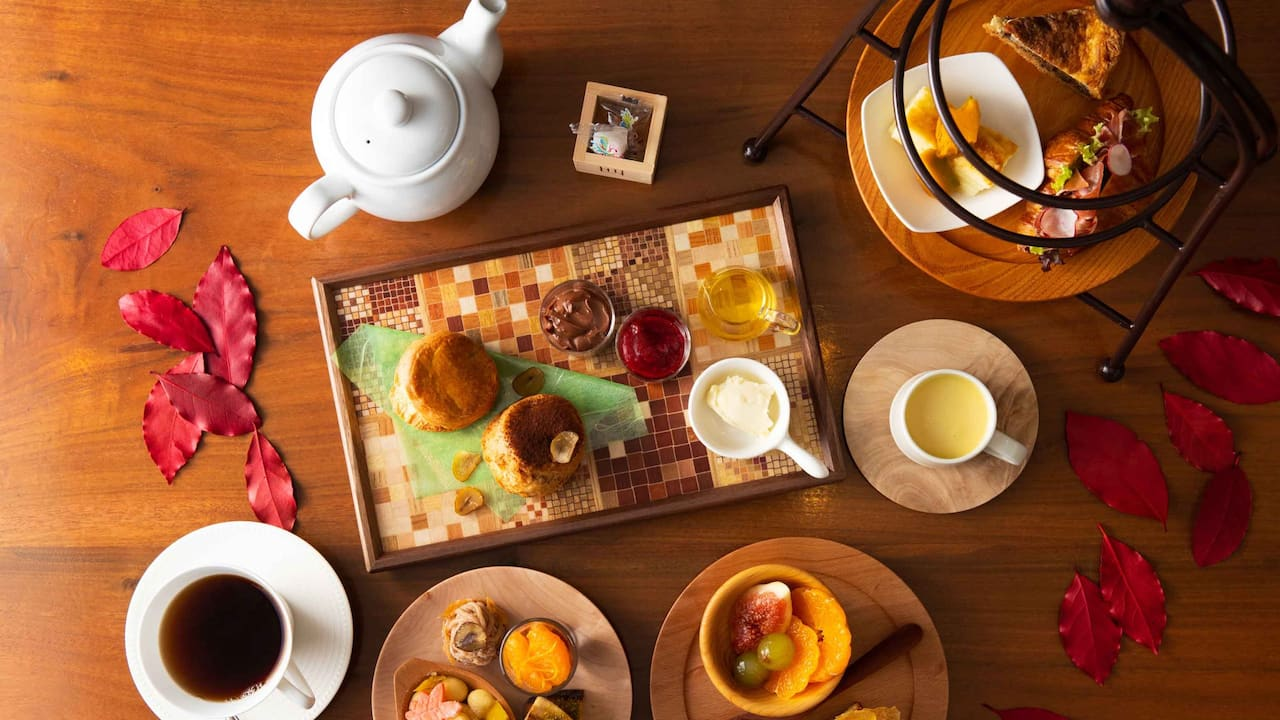 Hyatt Regency Hakone Resort & Spa| Full of Autumn Afternoon tea
