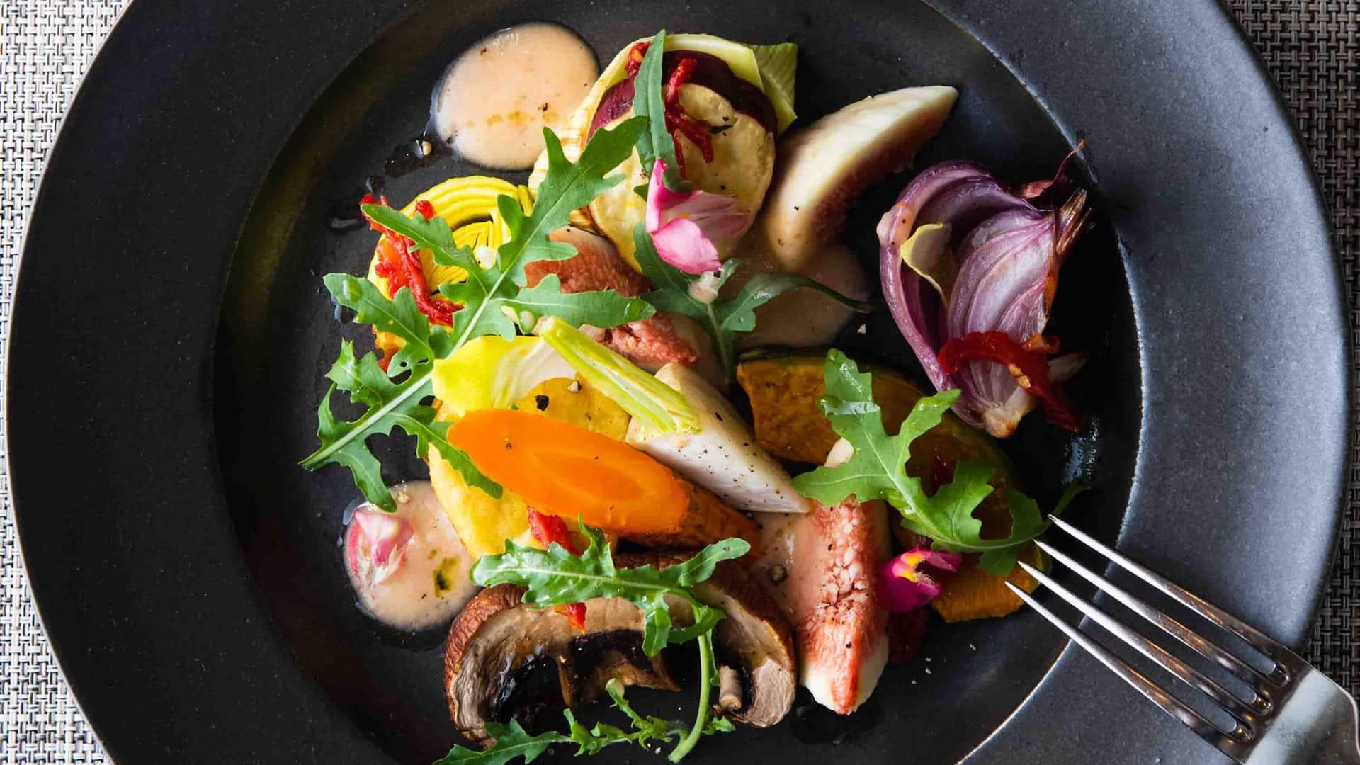 Hyatt Regency Hakone Resort & Spa  Seasonal Lunch Harvest Autumn