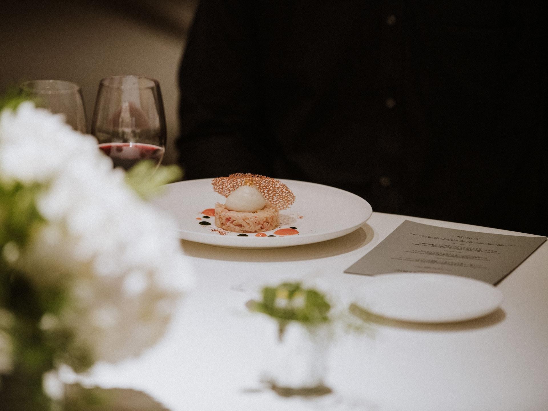 ハイアットセントリック金沢のイベント会場テーブルセットイメージ