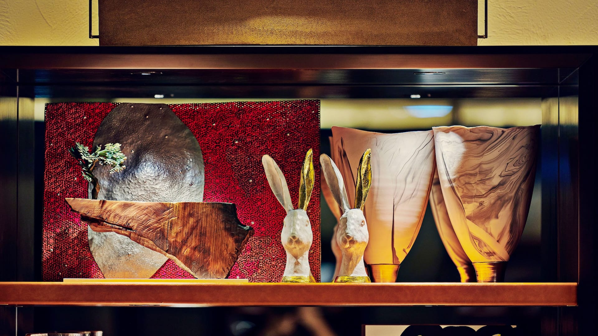 Hyatt House Kanazawa Artwork Shelf Pavilion Rabbit