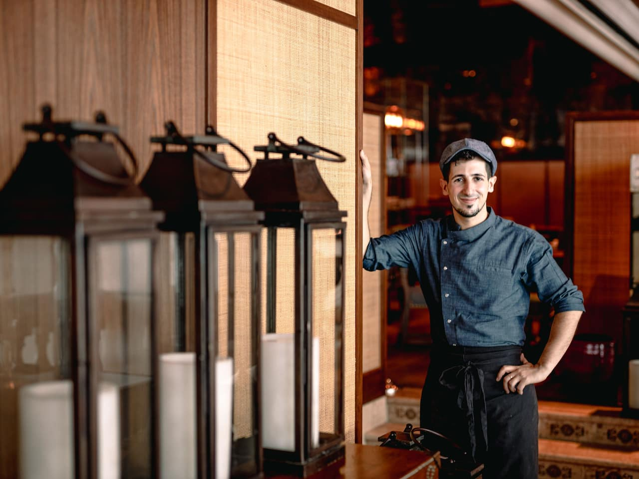 Chef Roberto Parentela at Salvia, Grand Hyatt Erawan Bangkok