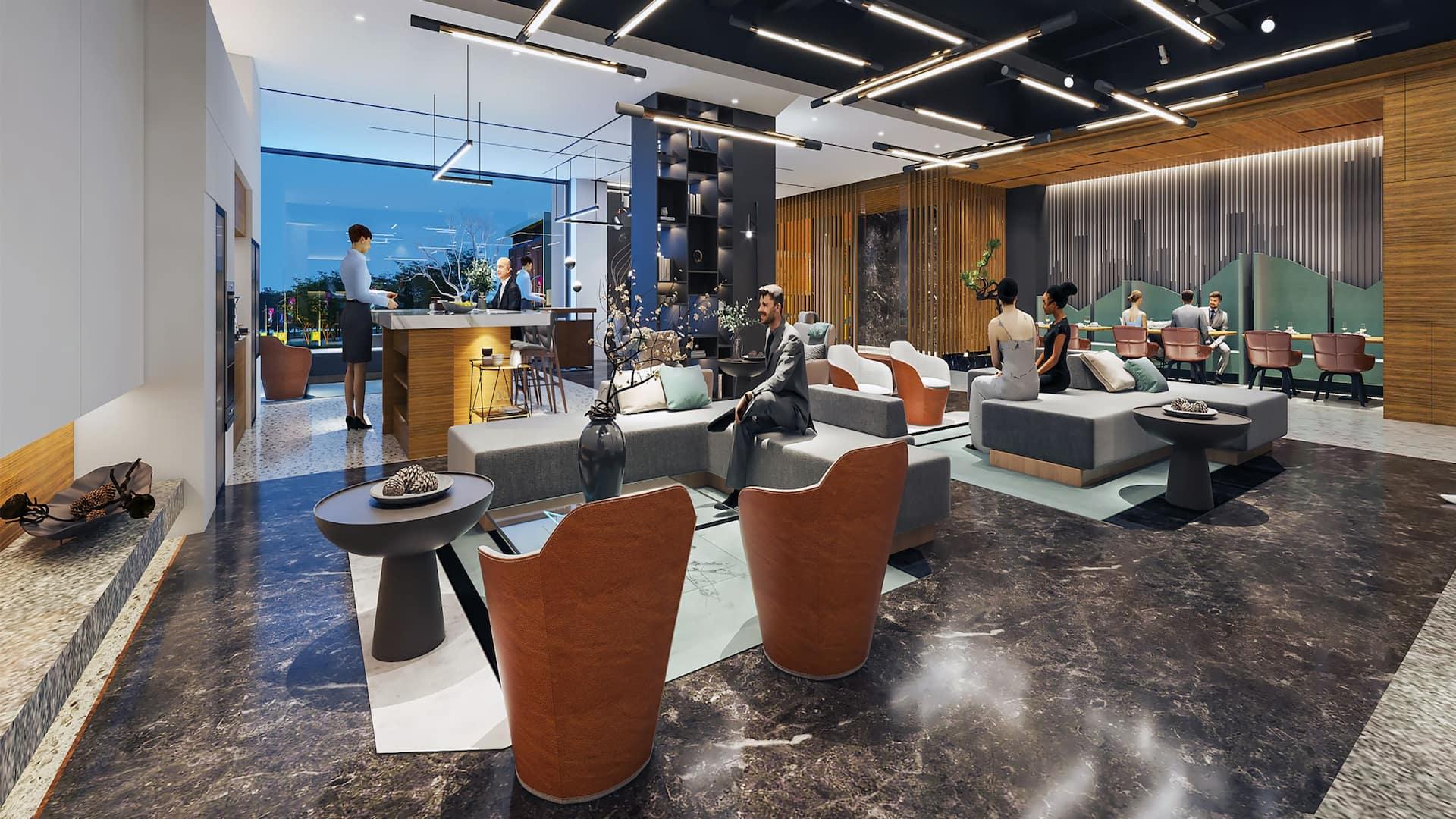 UrCove Shanghai Wujiaochang Hotel Lobby