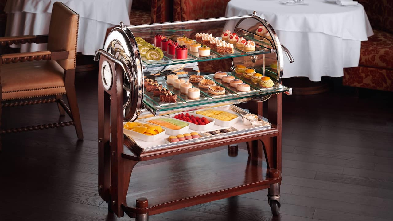 Hugo's Dessert Trolley