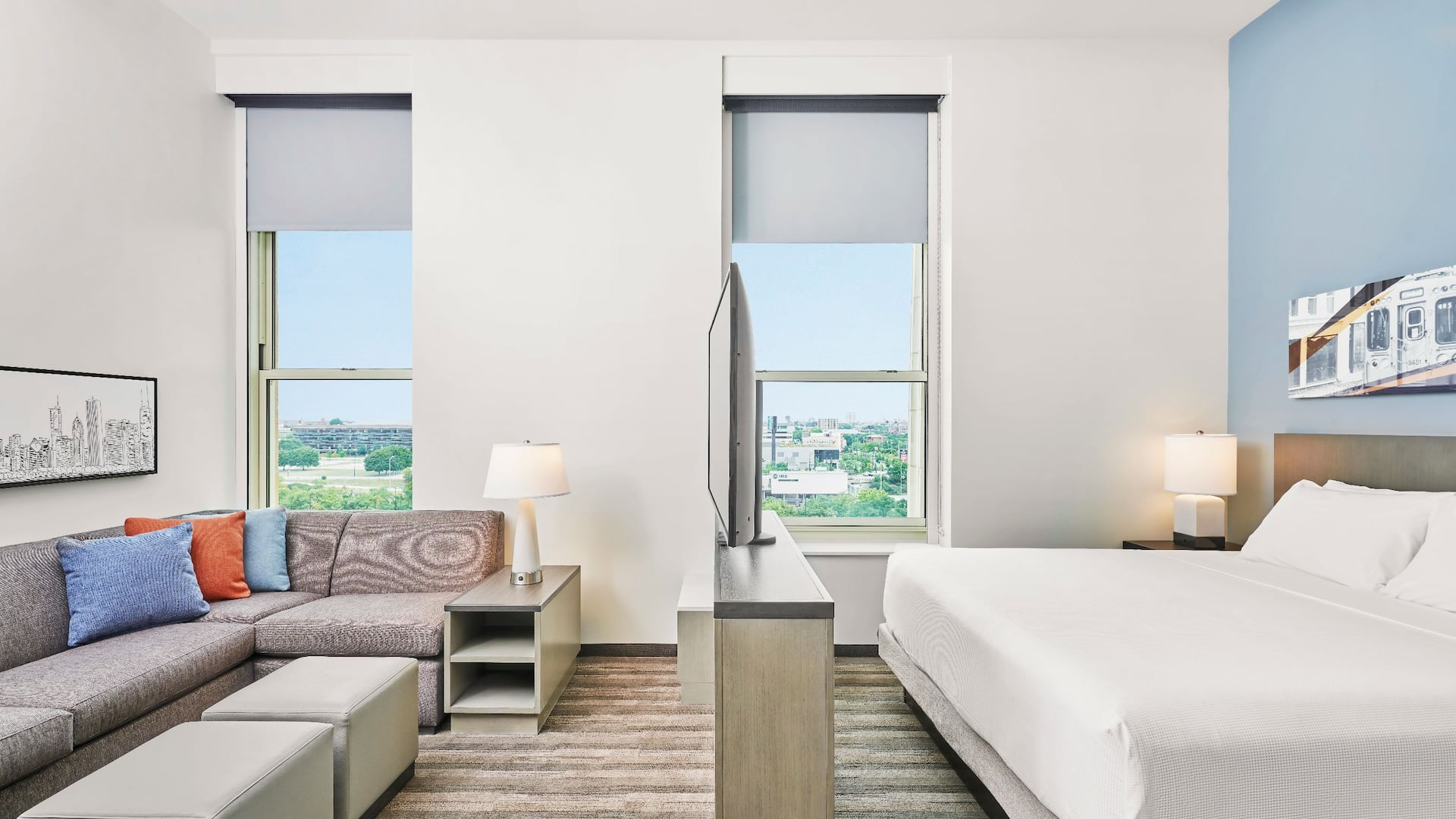 Hyatt House Guestroom