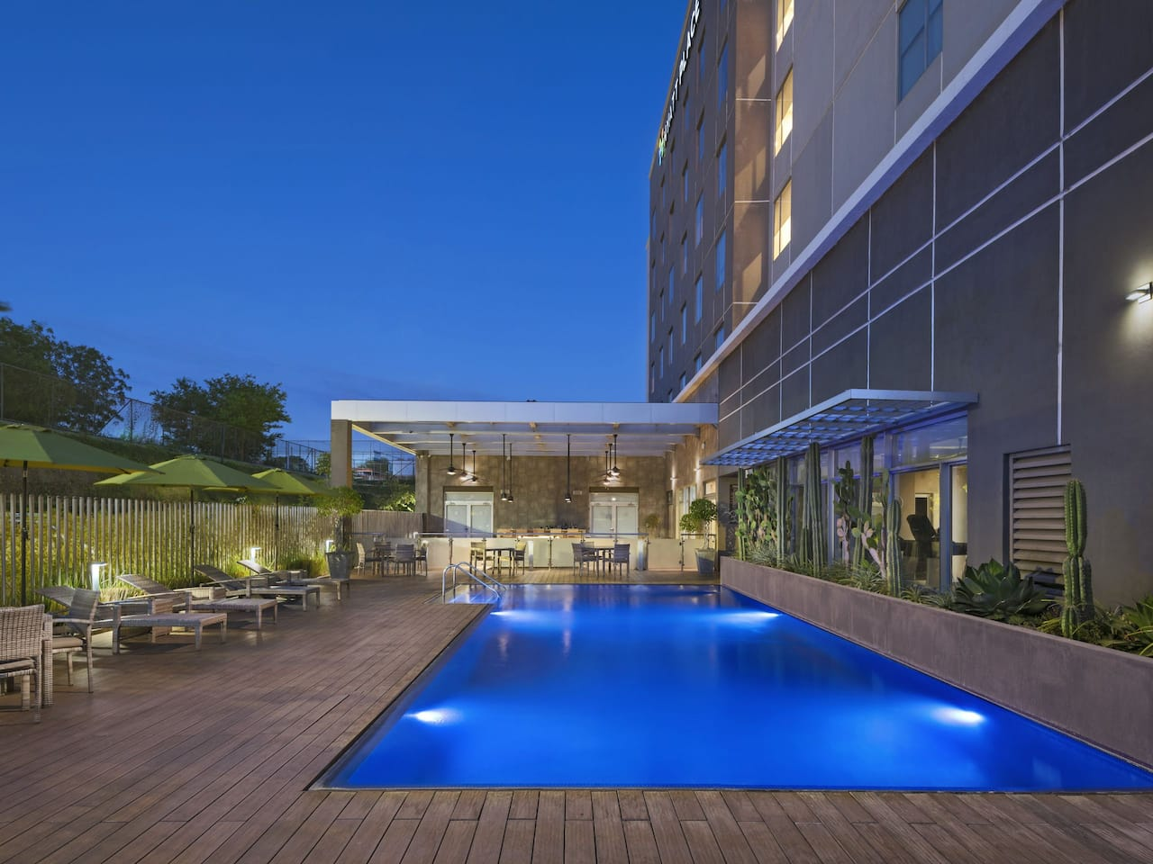 Hyatt Place Managua Outdoor Pool