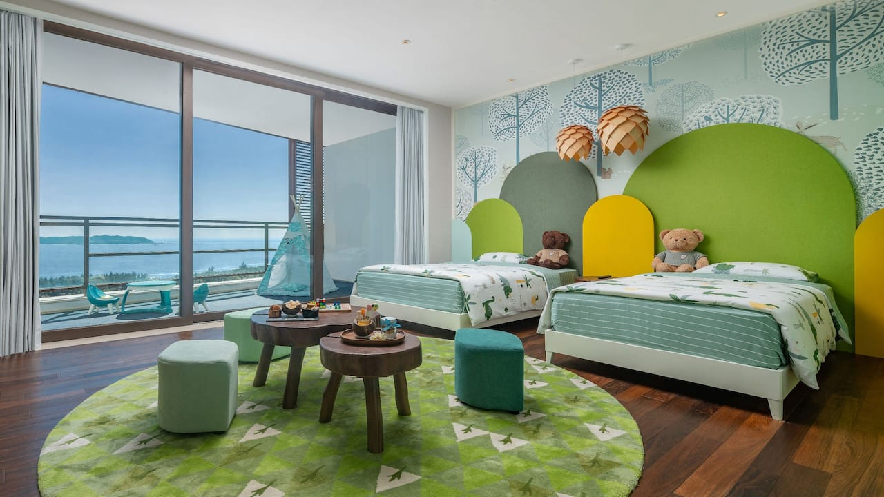 Ocean Front Family 2 Bedrooms Suite at Grand Hyatt Sanya Haitang Bay