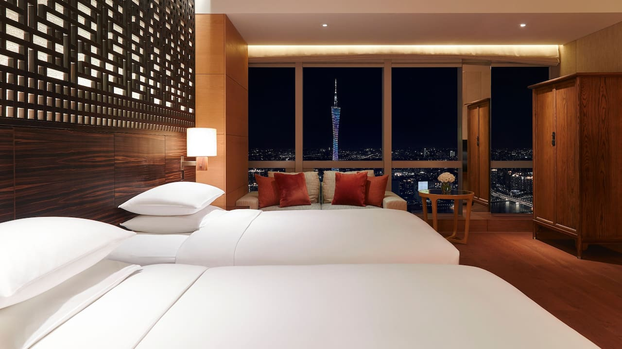 Twin Bed Tower View Room