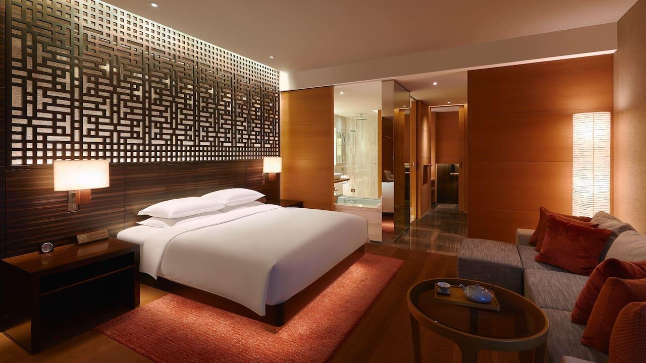 1 King Bed at Park Hyatt Guangzhou