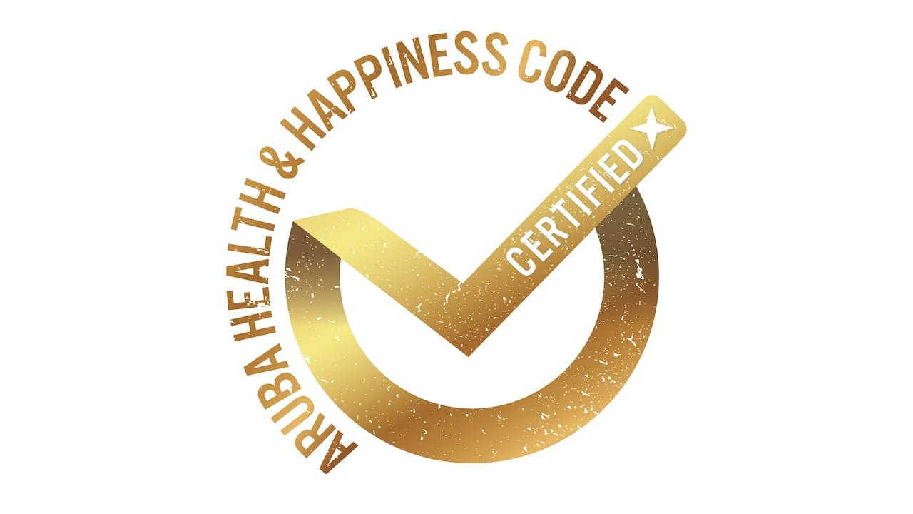 Aruba Health & Happiness Code Seal