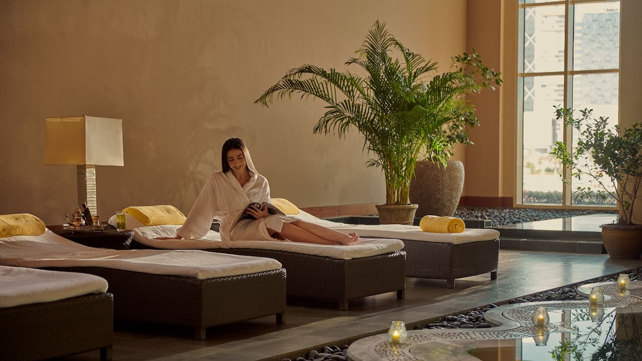 Jaula Spa and Club at Grand Hyatt Doha Hotel & Villas