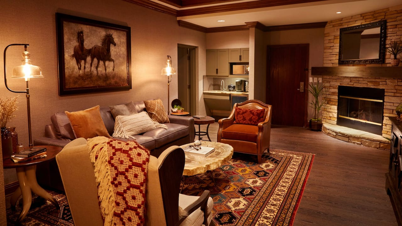 John Wayne Suite Living Room